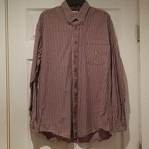 Cinch western shirt  Pleated yoke Button front